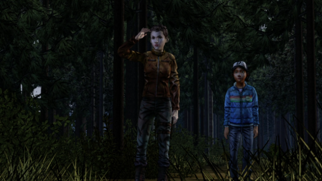 Jane serves as one of Clementine's mentors in Season Two. She is also a reflection of who Clementine might grow to be.