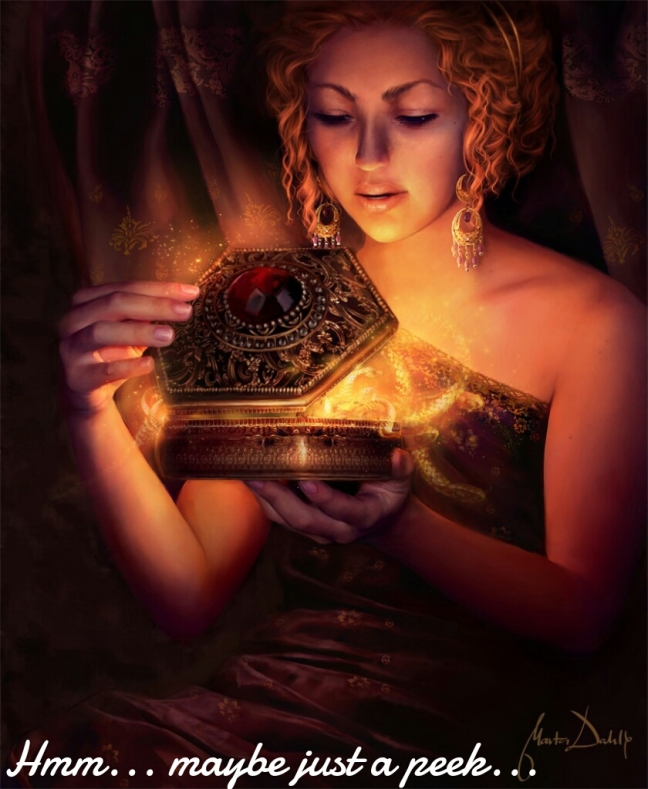 Opening Pandora's box happens. Just be sure you know where it is so you can break it.