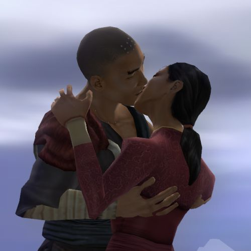 The kiss was the first climax in Bioware relationships.