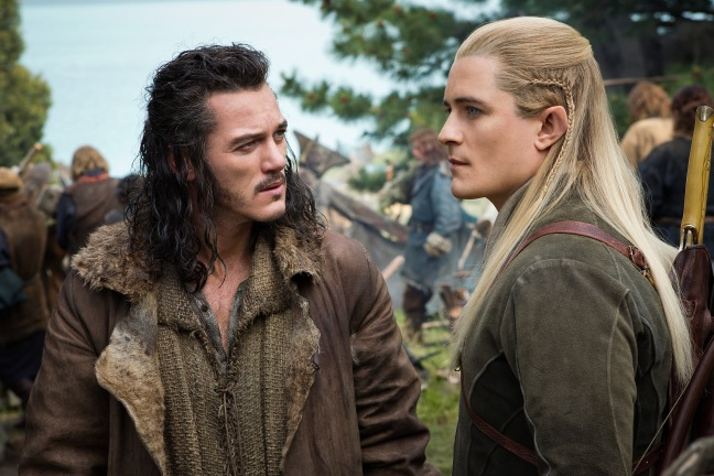 Bard and Legolas are two of the more reasonable voices leading to the battle.