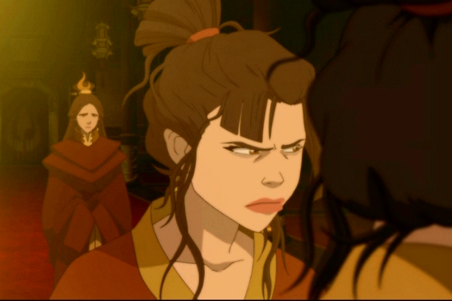 """Well what choice do I have? Trust is for fools! Fear is the only reliable way.""  - Azula"