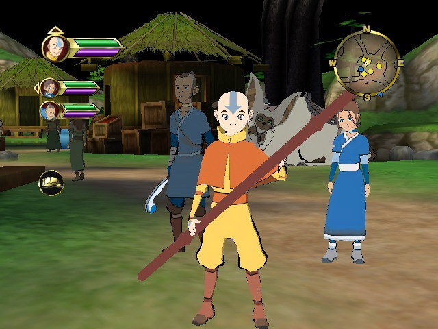 With your help, Aang can finally be rendered with a mouth.