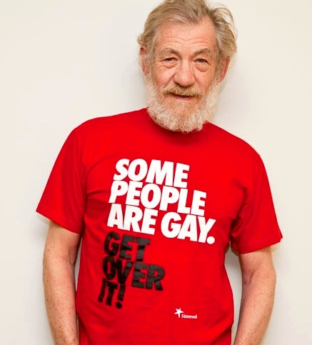 If all you see when you look at actor Ian McKellan is a gay man, then you are really missing the point of just what an awesome human being he is.