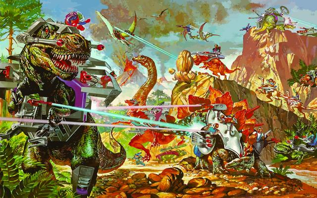 Dino Riders: the logical conclusion. Also, why has no one made a Dino Riders movie yet?