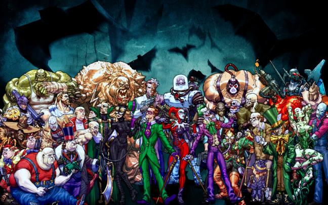 Wow, that's a lot of villains who are only fit for side roles.