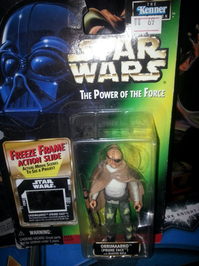From the 1990s on, nearly every Star Wars packaged design featured a masked villain on the box art.