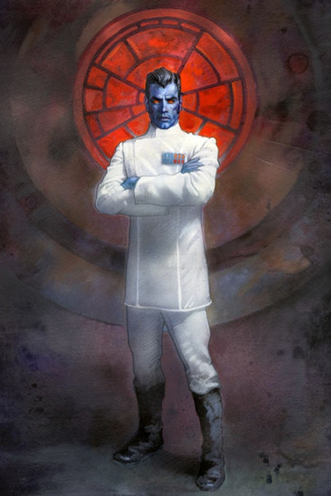 While I was okay not having Thrawn, using such a boring villain as an alternative was such a shame to see.