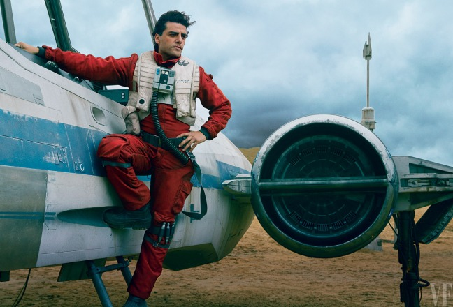 Poe Dameron was an interesting character who we really didn't get a chance to get to know.