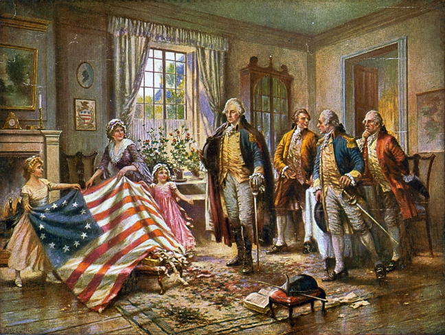Picture the Doctor critiquing the flag or attending the Constitutional Convention: so much opportunity.