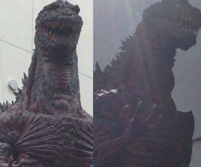 Fun fact: Godzilla's skin has always been designed to show radioactive burning, but this is the first iteration to go further.