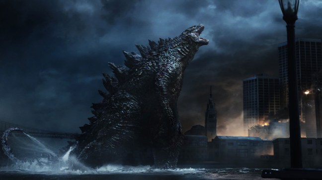 For all his power, this Godzilla definitely has the feeling of a superhero. Fighting King Ghidorah will only cement that.