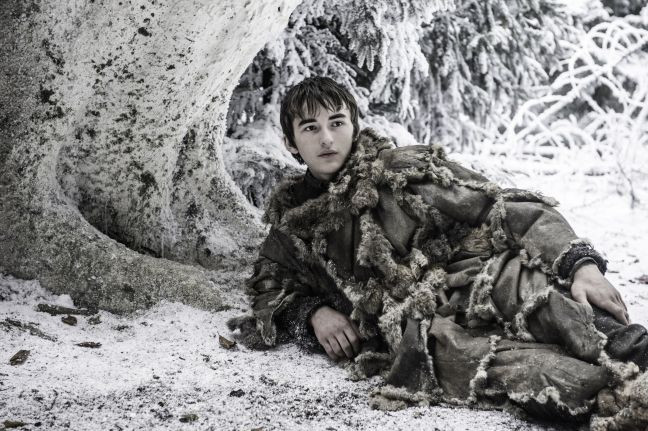 Also... seriously, wtf is Bran even doing besides filling in the audience?