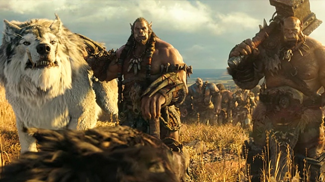 Ogrim is usually seen standing next to Durotan in all his scenes, making him one horrible sidekick.