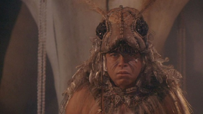 This movie also features James Earl Jones in a locust costume...