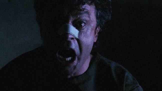 Brad Dourif acting creepy. One of the chief highlights of this film.