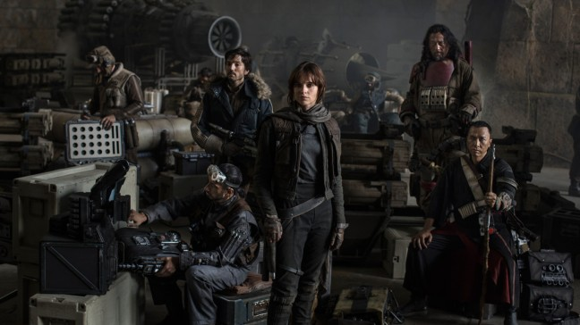 While Felicity Jones is the protagonist, Rogue One is very much an ensemble film.