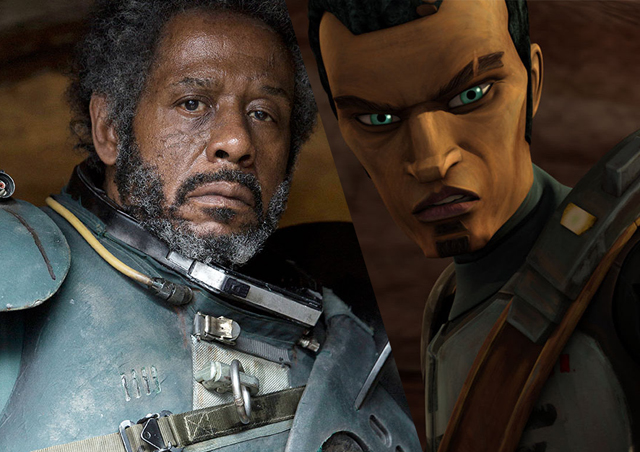Saw Gerrera's extended screen time is likely due to his Clone Wars background.