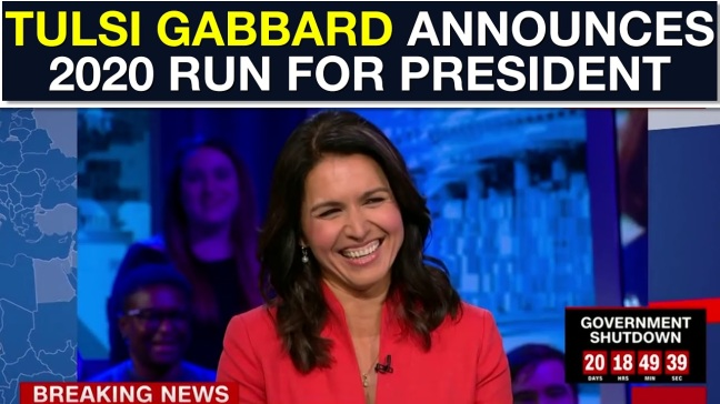 Tulsi Gabbard running for president