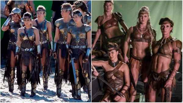 wonder woman male gaze