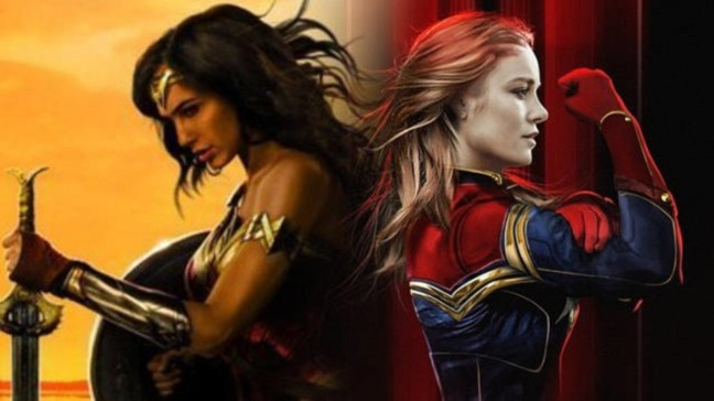 Captain Marvel vs Wonder Woman