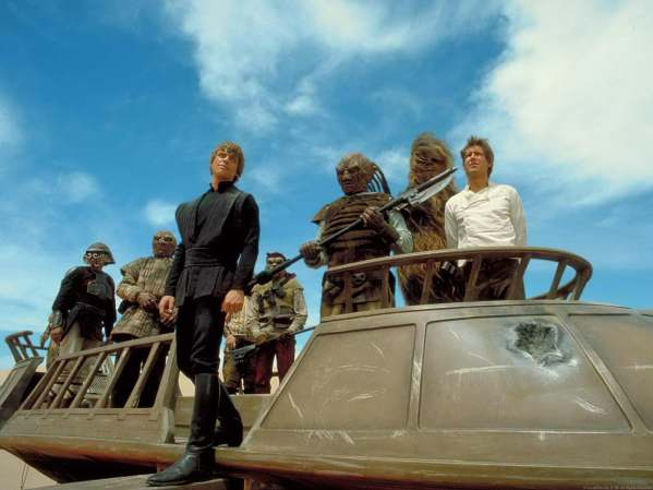Skiff Nostalgia Rise of Skywalker