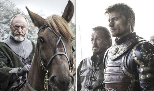 Sir Davos Jaime Lannister Long Night
