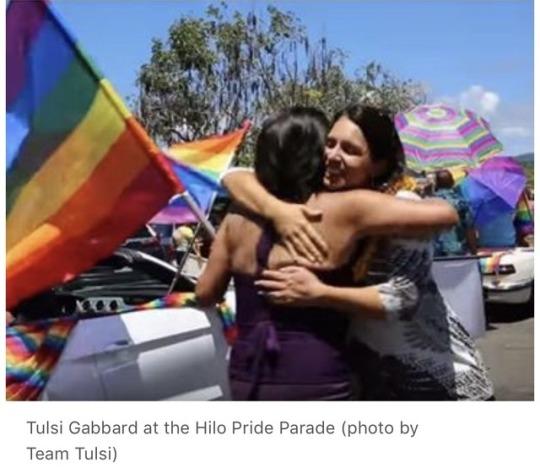 Tulsi Gabbard Pride Parade