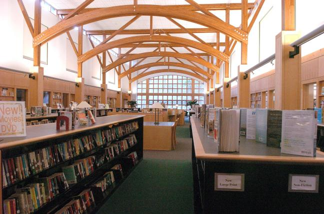 Abington Public Library Interior