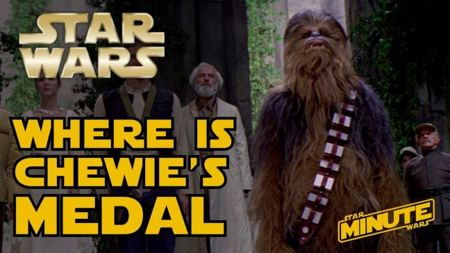 Chewie Medal 40 years old