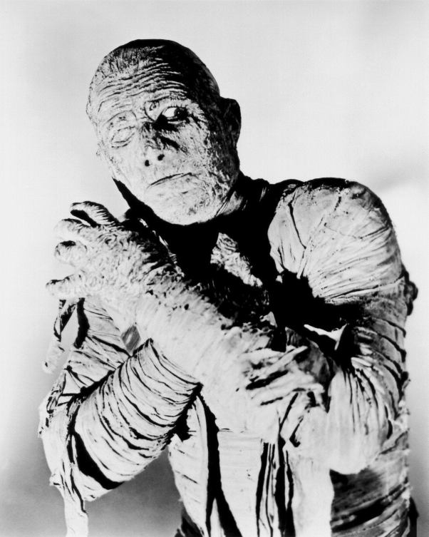Lon Chaney Jr. as the Mummy