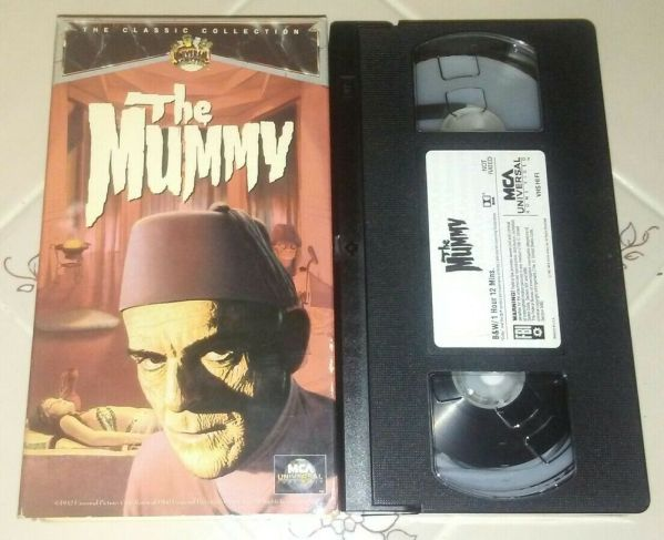 Universal Classic Monsters The Mummy VHS