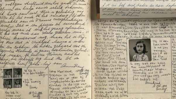 Diary of Anne Frank Journal Writing